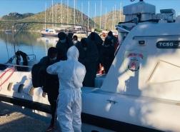 تركيا تنقذ ما لا يقل عن 70 مهاجراً غير نظامي في بحر إيجه