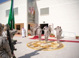 فيديو.. تخريج أول دفعة نسائية بالقوات المسلحة السعودية