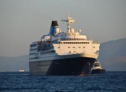 جزيرة تركية تستقبل أول سفينة سياحية أجنبية منذ 16 شهرا