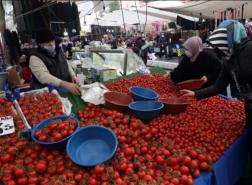التضخم في تركيا يقفز فوق معدل سياسة البنك المركزي إلى 19.25٪