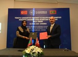 تركيا وجزر المالديف توقعان اتفاقية لتطوير قطاع الطيران المدني