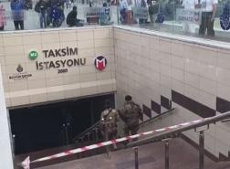 محاولة انتحار في محطة مترو تقسيم