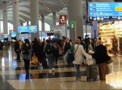 مطار إسطنبول يتغلب على مطارات هامة على مستوى العالم