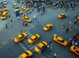 كاميرات داخلية وخارجية لمنع الاحتيال بسيارات الأجرة في إسطنبول