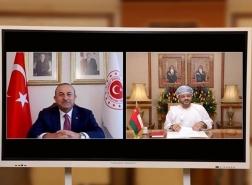 تركيا وعُمان تناقشان التعاون الثنائي الاقتصادي والاستثماري