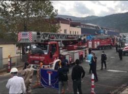 مصرع وجرح 7 عمال إثر انفجار بمصنع كيماويات في بورصة التركية