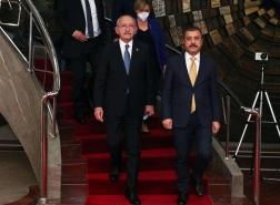 تصريحات لمحافظ المركزي التركي عقب لقائه زعيم المعارضة