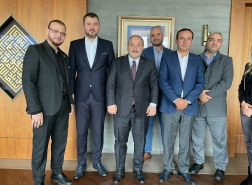 بحضور وزير التكنولوجيا التركي.. اتفاقية نوعية بين رجال أعمال فلسطينيين وأردنيين مع أتراك