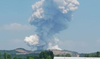 تحذير من وزير الصحة بعد انفجار مصنع الألعاب النارية في سكاريا