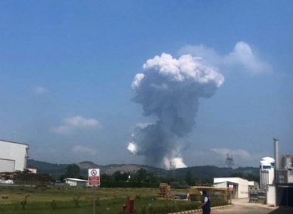 سلسلة انفجارات داخل مصنع غرب تركيا وعدد من الوزراء يتوجهون للمنطقة