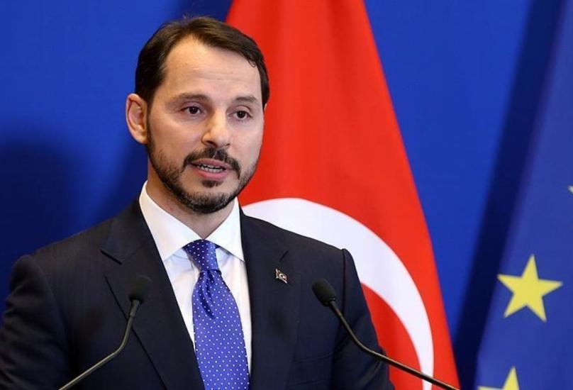 وزير المالية التركي براءات ألبيرق