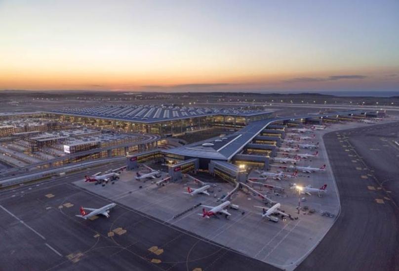 مشهد عام من مطار اسطنبول الدولي-أرشيفية