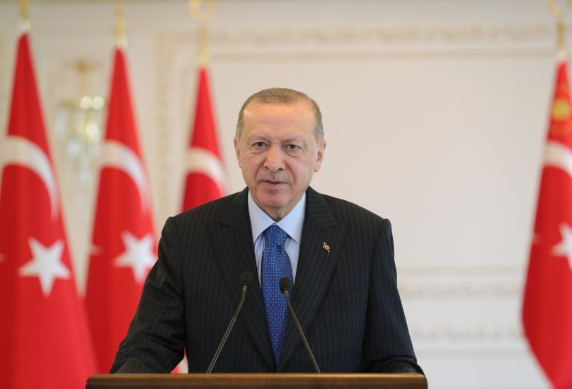 الرئيس التركي رجب طيب أردوغان - أرشيف