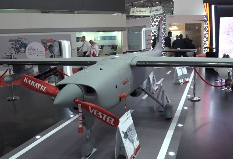 طائرة تركية بدون طيار من طراز فستيل كاراييل
