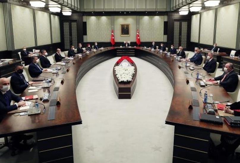 اجتماع سابق للحكومة التركية برئاسة أردوغان