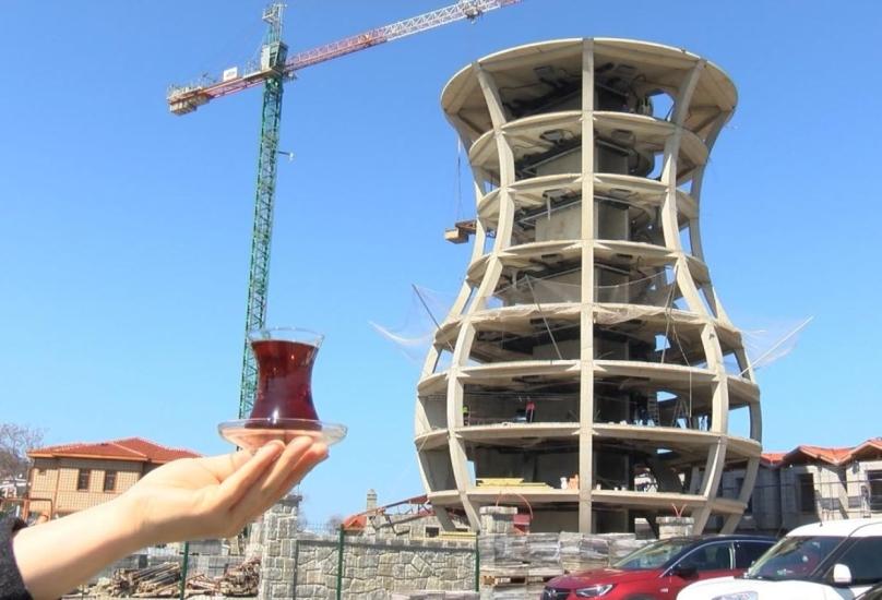 يسعى المبنى إلى دخول موسوعة غينيس للأرقام القياسية