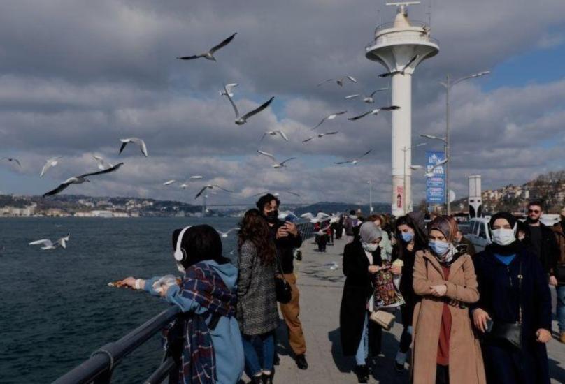 منذ بداية أبريل، تجاوز عدد حالات الإصابة بالفيروس يوميًا 40 ألف حالة في تركيا