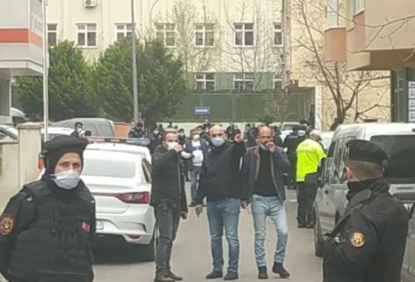 إرسال عدد كبير من فرق الشرطة والفرق الطبية إلى المكان