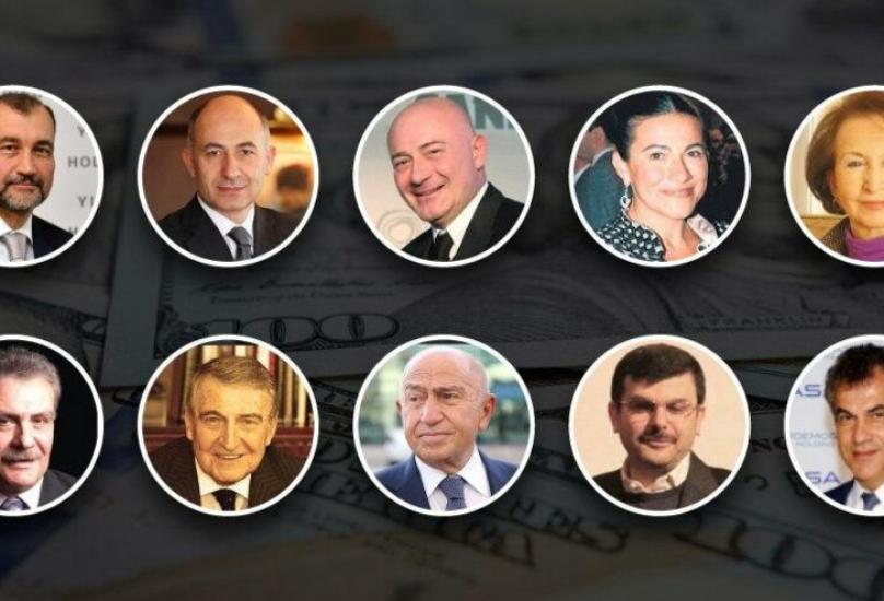 قائمة أغنى 10 رجال أعمال في تركيا