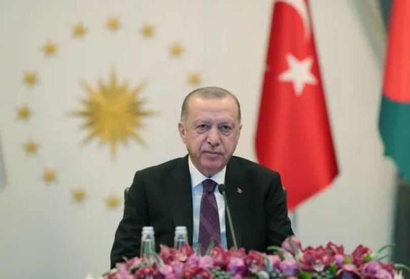 أردوغان : من الممكن تفعيل فكرة إنشاء بنك إسلامي كبير على أساس منصة إلكترونية