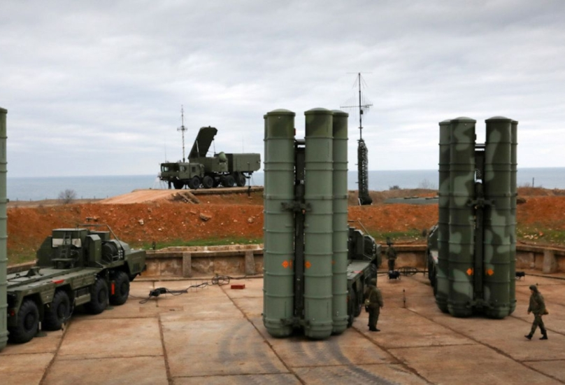 سلمت روسيا أولى بطارياتها من طراز S-400 إلى تركيا العضو في الناتو في يوليو 2019