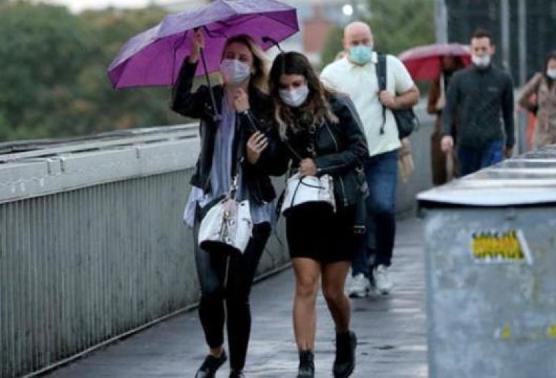 الأمطار ستهطل على كافة الأراضي التركية يوم الأحد