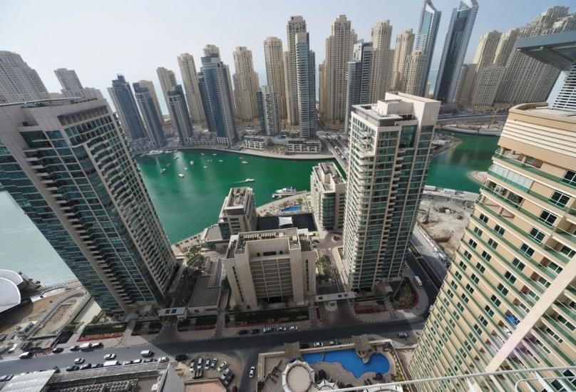 مشهد عام من مدينة دبي-صورة أرشيفية