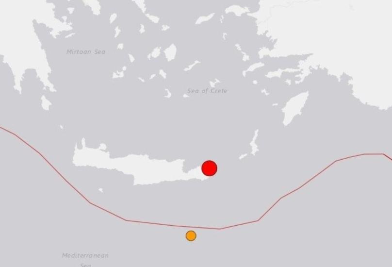 زلزال يضرب جزيرة كريت للمرة الثانية في أقل من شهر