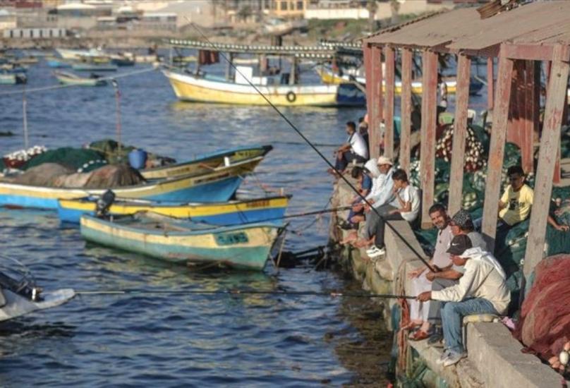 ميناء غزة البحري-صورة أرشيفية